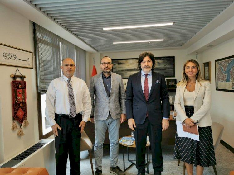 Gastronomi Turizm Derneği Başkanı, İstanbul Ticaret Odasını (İTO)  Ziyaret Etti